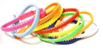 Plastic Zip Zipper Bracelet - 10 Colours - and dispatched in 24 Hours - Things4craft.co.uk