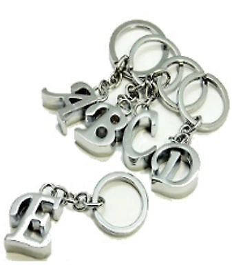 Keyring Letter - Choose letter - Initial Alphabet Key Ring - Things4craft.co.uk - 1