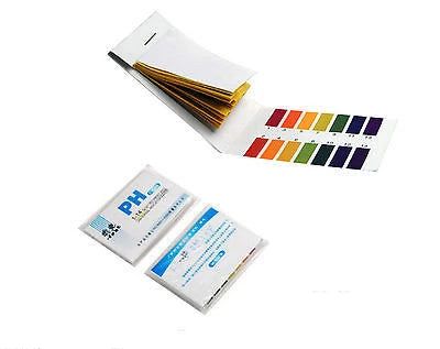 80 pH 1-14 Universal Full Range Litmus Test Paper Strips Tester Indicator Urine - Things4craft.co.uk - 1