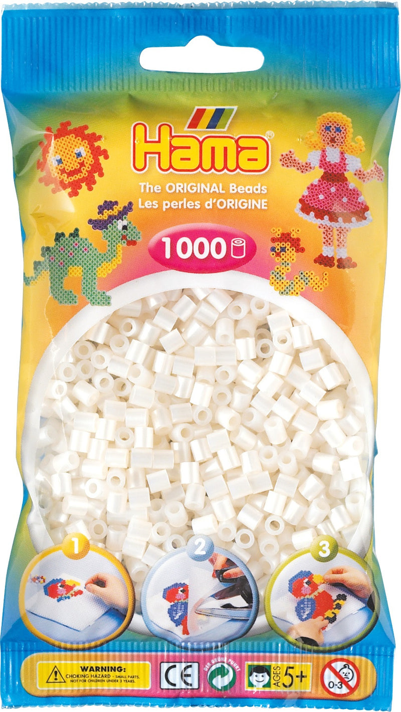 Pearl Hama Beads - 207-64 - 1000 Per Bag (Approx)