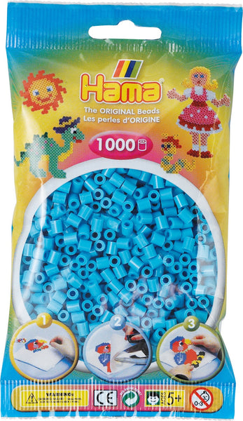 Azure Blue Hama Beads - 207-49 - 1000 Per Bag (Approx)