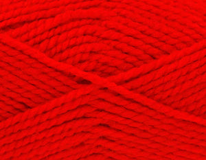 553 Red · Big Value Chunky Wool · 100g