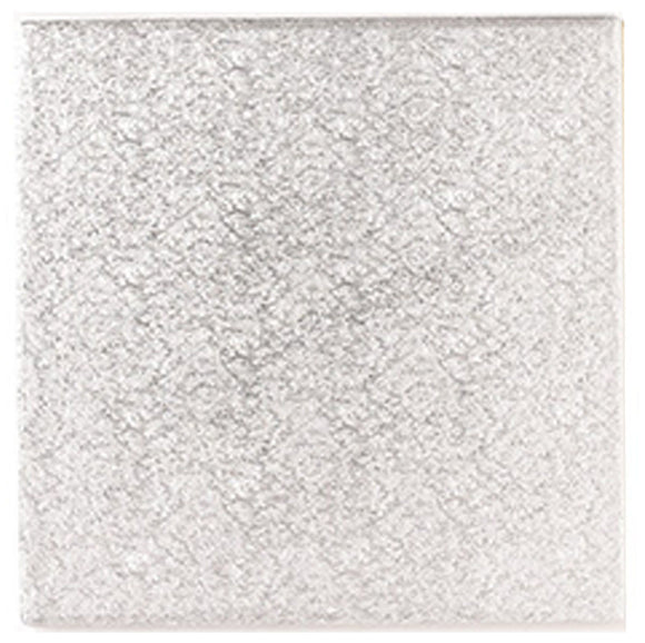 Square Silver drum 12mm thick sizes 5 to 14 Square Silver Drum   12mm Thick   Sizes 5