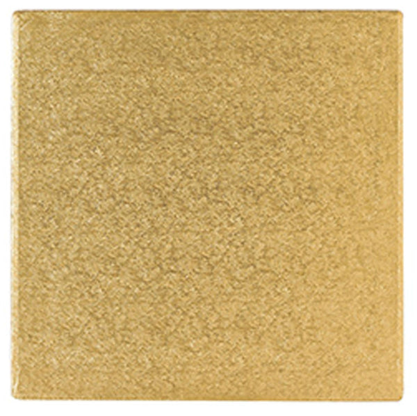 "Square Gold drum 12mm thick sizes 5 to 14 Square Gold Drum   12mm Thick   Sizes 5"" to 14"""