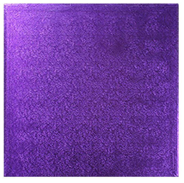"Square Purple drum 12mm thick sizes 5 to 14 Square Purple Drum   12mm Thick   Sizes 5"" to 14"""