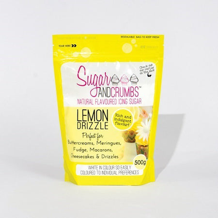 Sugar and Crumbs Natural Flavoured Icing Sugar - Lemon Drizzle
