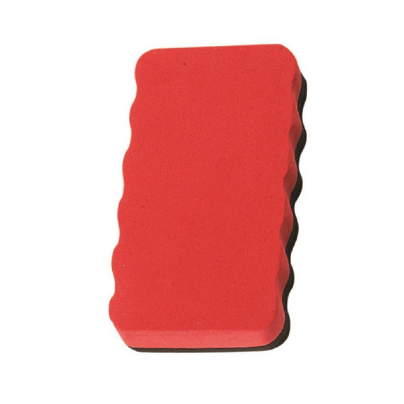 Magnetic Board Rubber Whiteboard cleaner dry eraser Red  Magnetic Board Rubber - Pack of 2