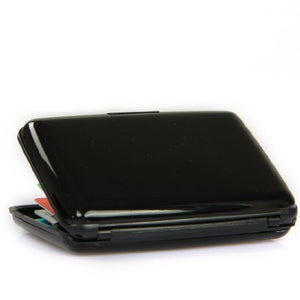Black Aluminium Wallet