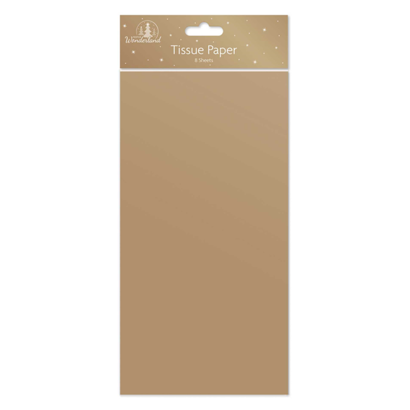 Gold Tissue Paper - 8 Sheets