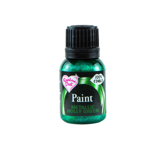 Paint Metallic - Metallic Holly Green