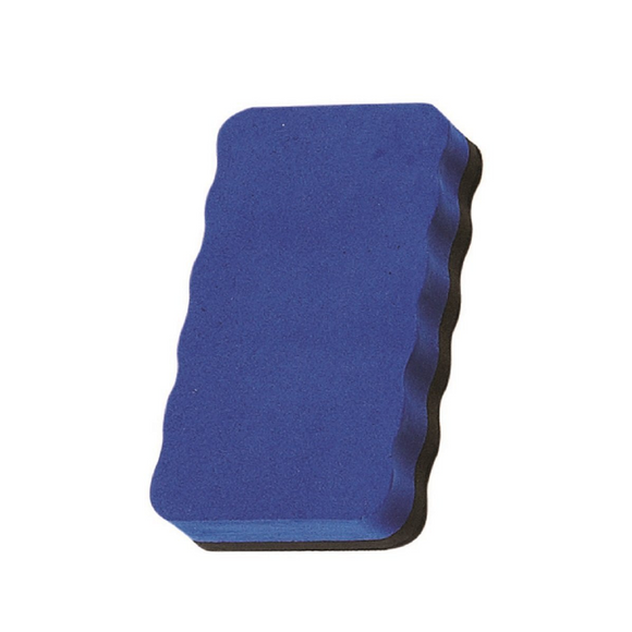 Magnetic Board Rubber Whiteboard cleaner dry eraser Blue  Magnetic Board Rubber - Pack of 2