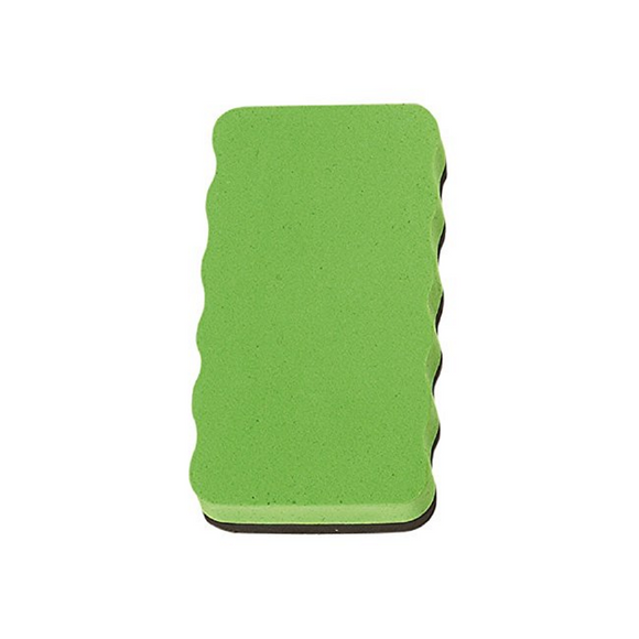 Magnetic Board Rubber Whiteboard cleaner dry eraser Green  Magnetic Board Rubber - Pack of 1