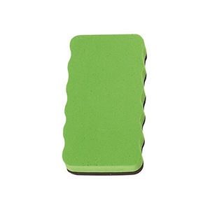 Magnetic Board Rubber Whiteboard cleaner dry eraser Green  Magnetic Board Rubber - Pack of 2