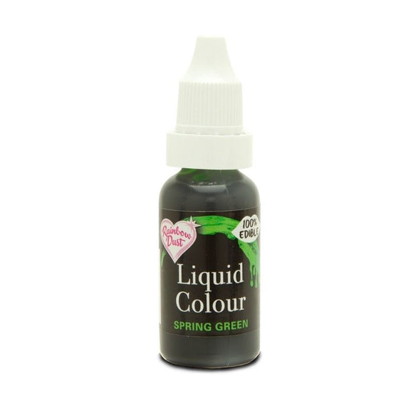 Liquid Colour - Spring Green - Rainbow Dust