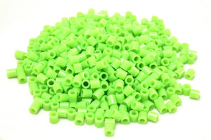 Light Green fuse beads 500 beads per pack 5mm high quality color bead