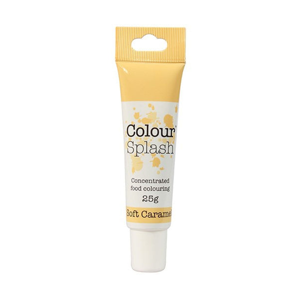 Colour Splash - Concentrated Food Colouring Gel - SOFT CARAMEL - 25g