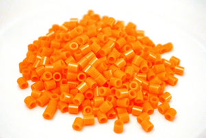 Orange fuse beads 500 beads per pack 5mm high quality color bead