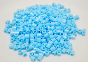 Light Blue fuse beads 500 beads per pack 5mm high quality color bead