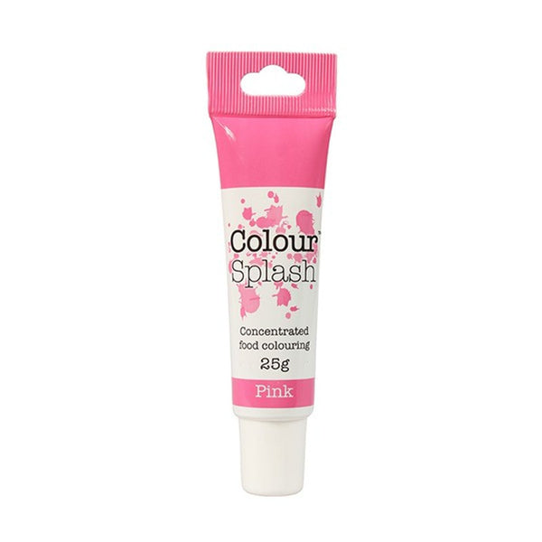Colour Splash - Concentrated Food Colouring Gel - PINK - 25g