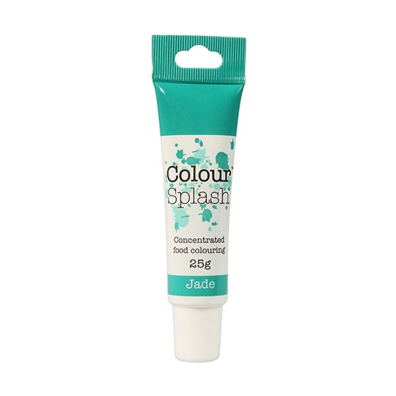 Colour Splash - Concentrated Food Colouring Gel - JADE - 25g