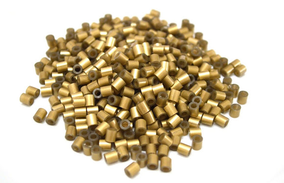 Gold fuse beads 500 beads per pack 5mm high quality color bead