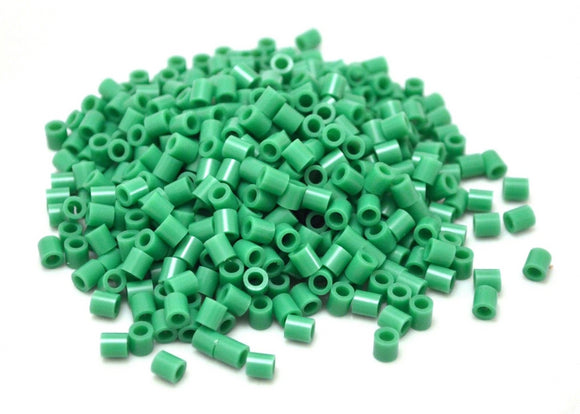Dark Green fuse beads 500 beads per pack 5mm high quality color bead
