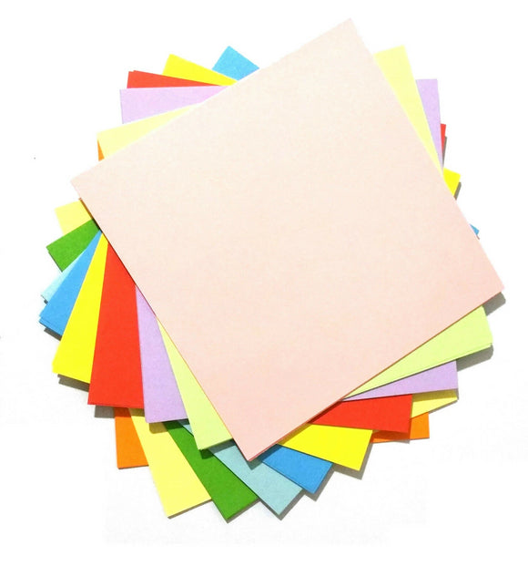 Origami Paper 15cm x 15cm   Pack of 100  Things4craft UK Craft Companay