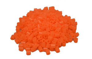 Translucent Red/Orange fuse beads 500 beads per pack 5mm high quality color bead