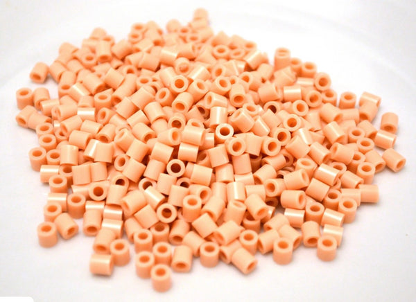 Flesh fuse beads 500 beads per pack 5mm high quality color bead