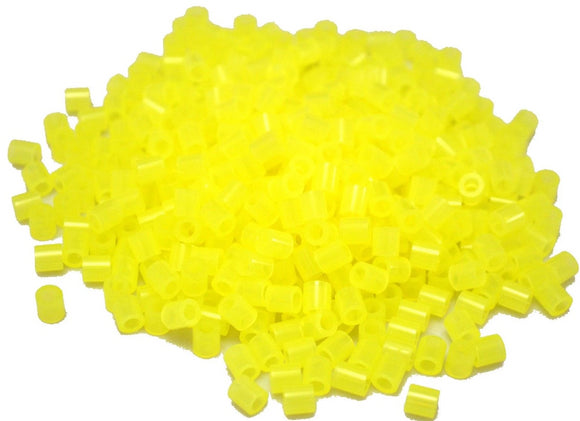 Translucent Yellow fuse beads 500 beads per pack 5mm high quality color bead