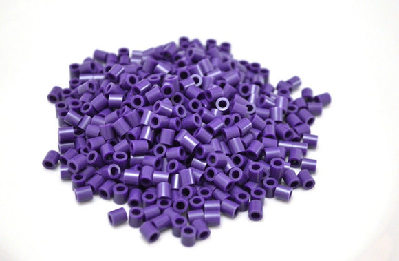 Purple fuse beads 500 beads per pack 5mm high quality color bead