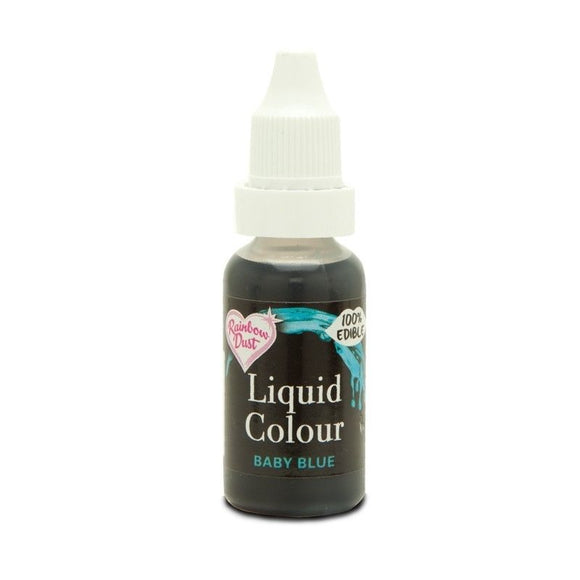 Liquid Colour - Baby Blue - Rainbow Dust