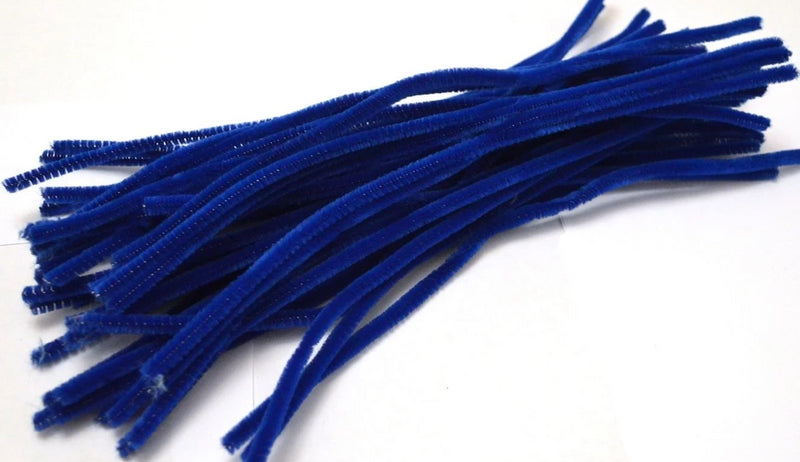 Dark Blue pipe cleaners chenille craft pipe cleaner 30cm 12 inch uk supplier