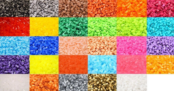 Mixed fuse beads 500 beads per pack 5mm high quality color bead