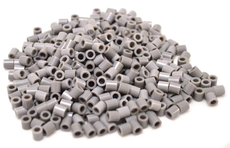 Grey fuse beads 500 beads per pack 5mm high quality color bead