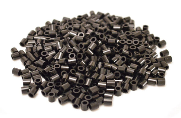 Black fuse beads 500 beads per pack 5mm high quality color bead