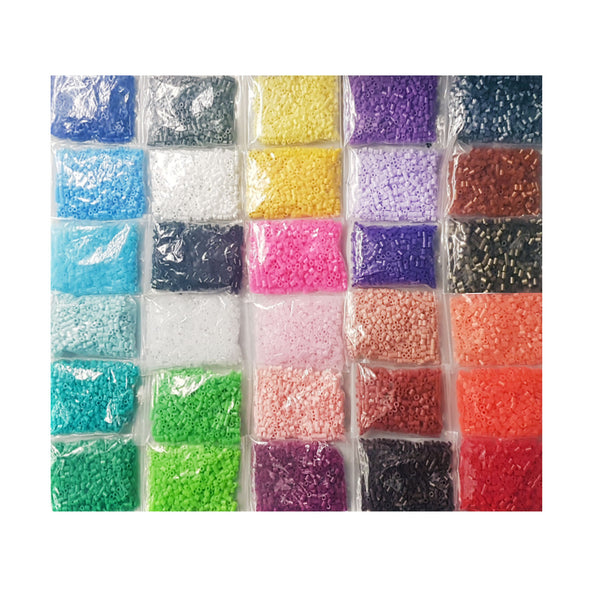 Mega Pack 15000 beads -30 Colours - 5mm Midi Craft