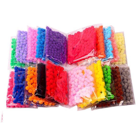 Pom Poms Small Craft 10mm - Choose Colour and Quantity - - Things4craft.co.uk