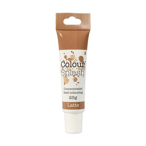Colour Splash - Concentrated Food Colouring Gel - LATTE - 25g