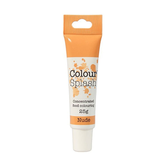 Colour Splash - Concentrated Food Colouring Gel - NUDE - 25g