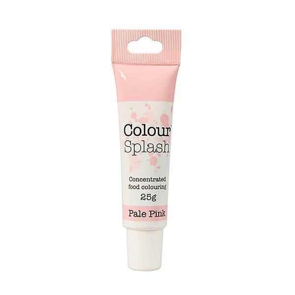 Colour Splash - Concentrated Food Colouring Gel - PALE PINK - 25g