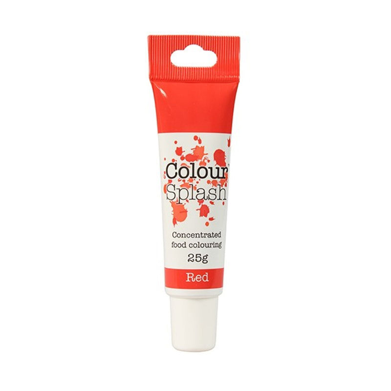 Colour Splash - Concentrated Food Colouring Gel - RED - 25g