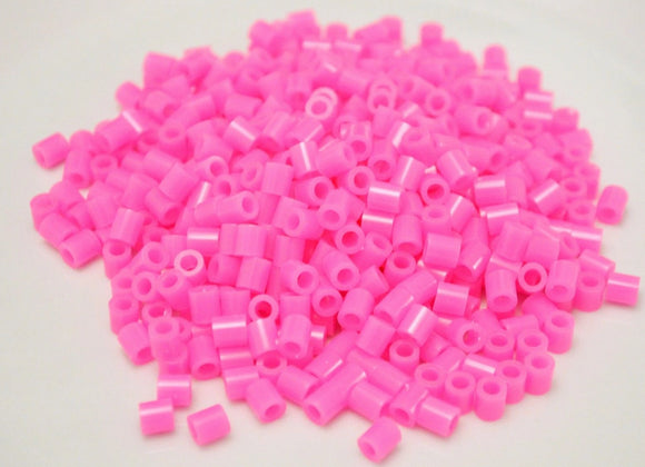 Hot Pink fuse beads 500 beads per pack 5mm high quality color bead