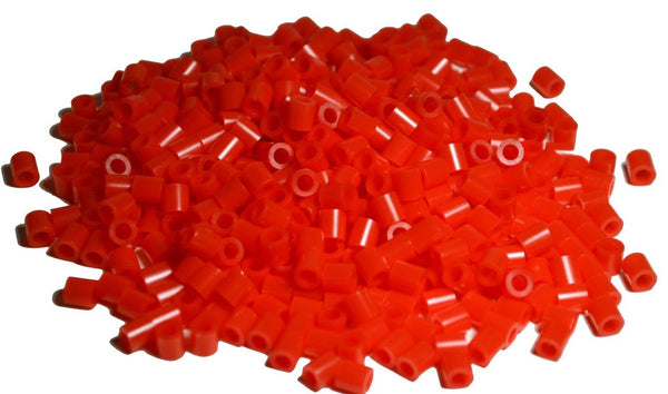 Red fuse beads 500 beads per pack 5mm high quality color bead