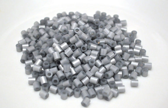 Silver fuse beads 500 beads per pack 5mm high quality color bead