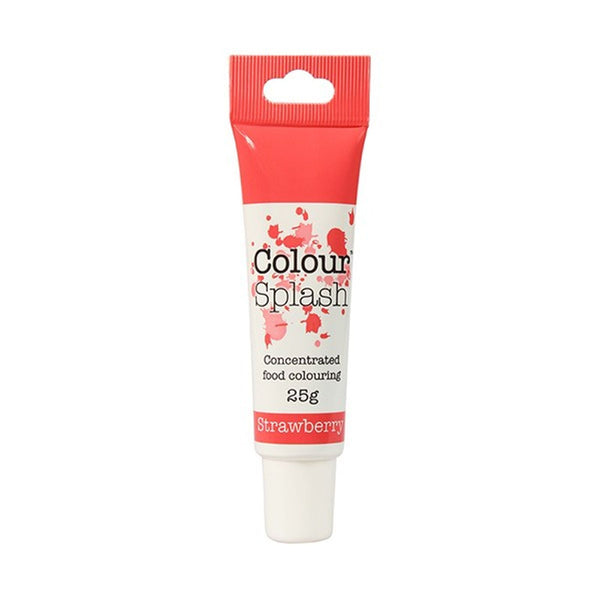 Colour Splash - Concentrated Food Colouring Gel - STRAWBERRY - 25g