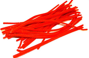 Red pipe cleaners chenille craft pipe cleaner 30cm 12 inch uk supplier