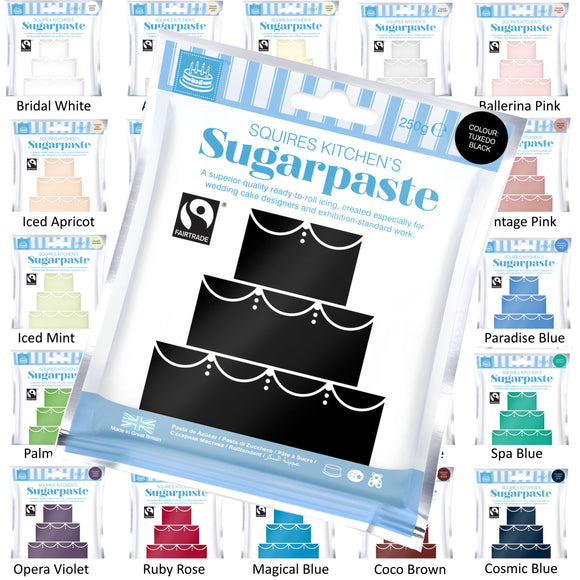 Squires Sugarpaste Fairtrade SK 250g