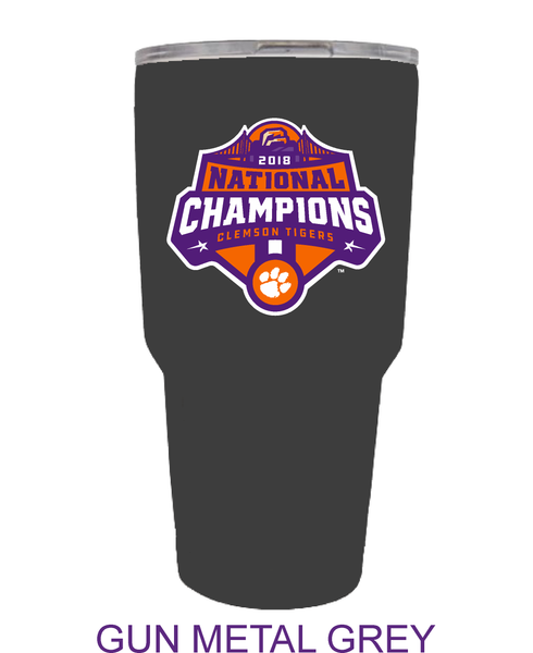National Championship Logo Tumbler 30oz