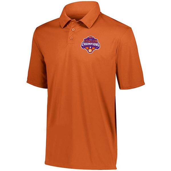 National Championship Dry-Fit Polo Orange